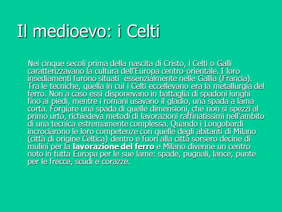 Il medioevo: i Celti