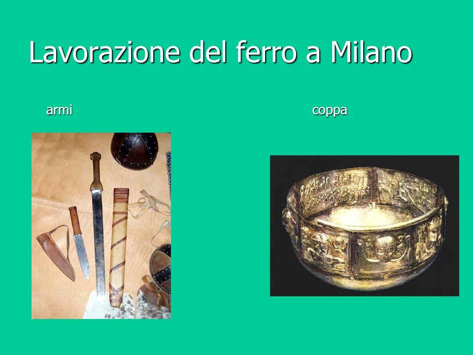 Lavorazione del ferro a Milano