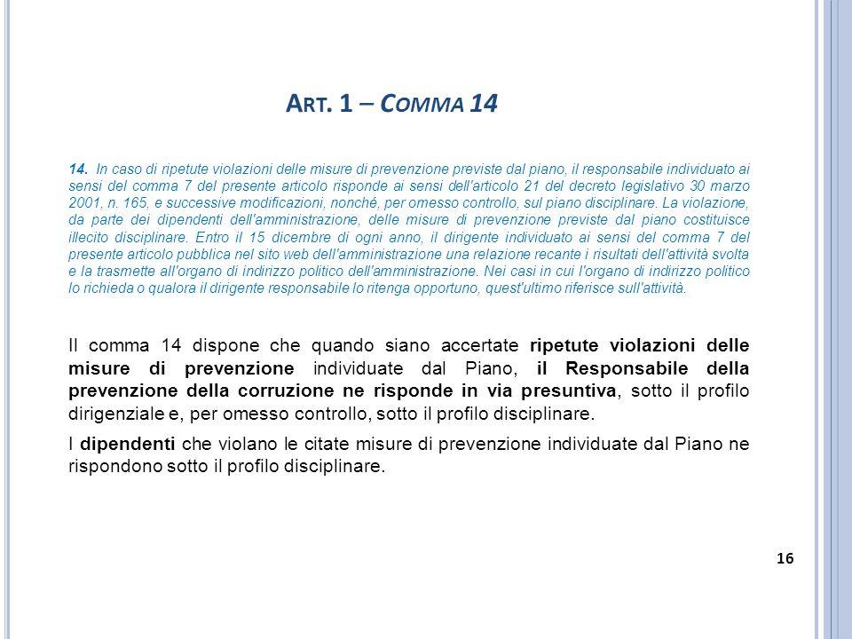 Art. 1 – Comma 14