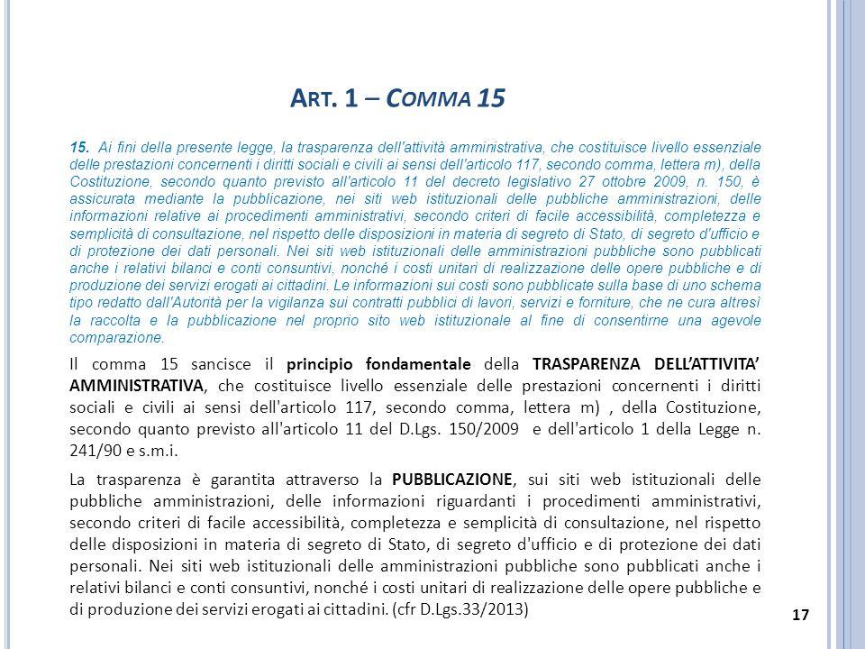 Art. 1 – Comma 15