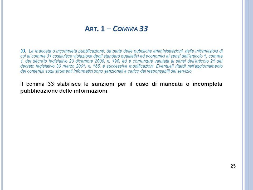 Art. 1 – Comma 33