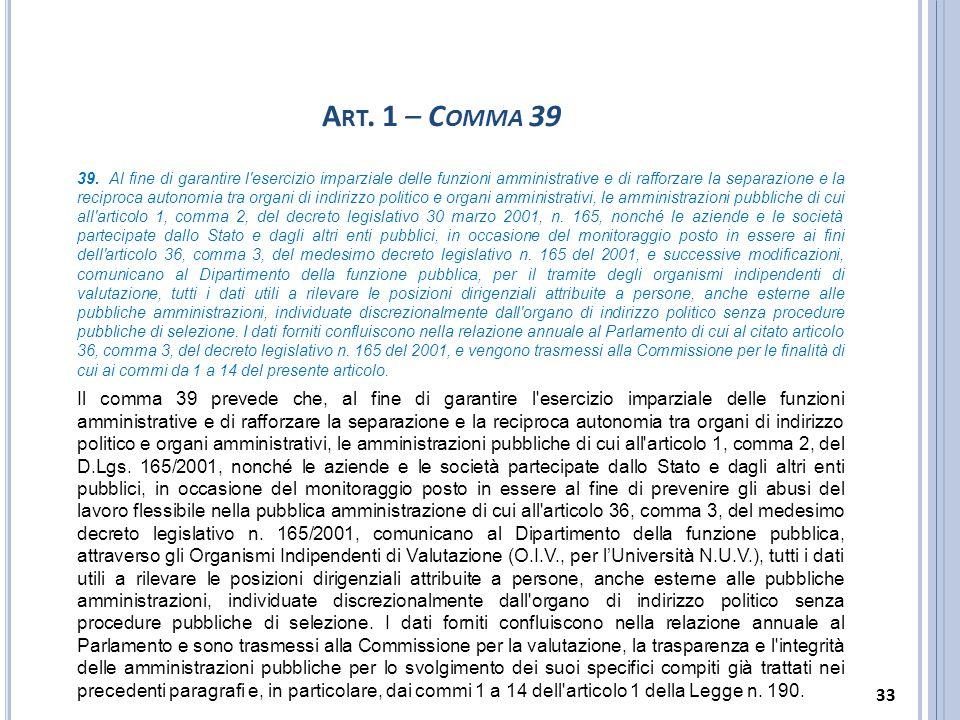 Art. 1 – Comma 39