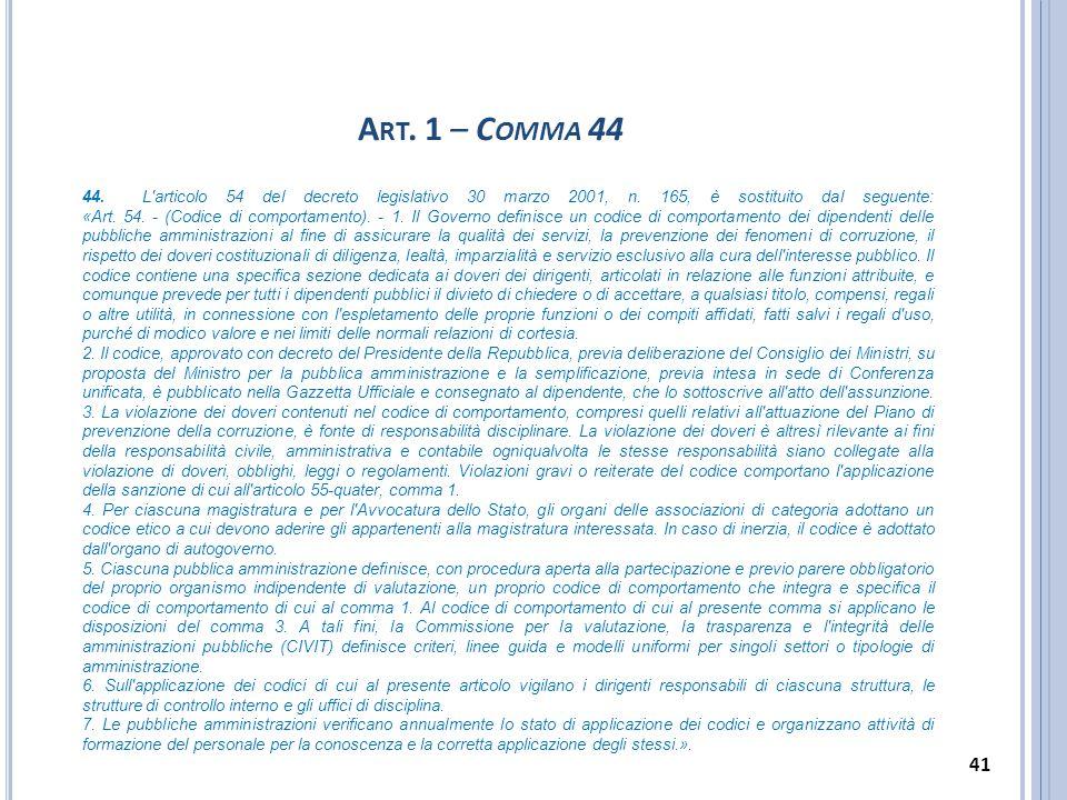 Art. 1 – Comma 44