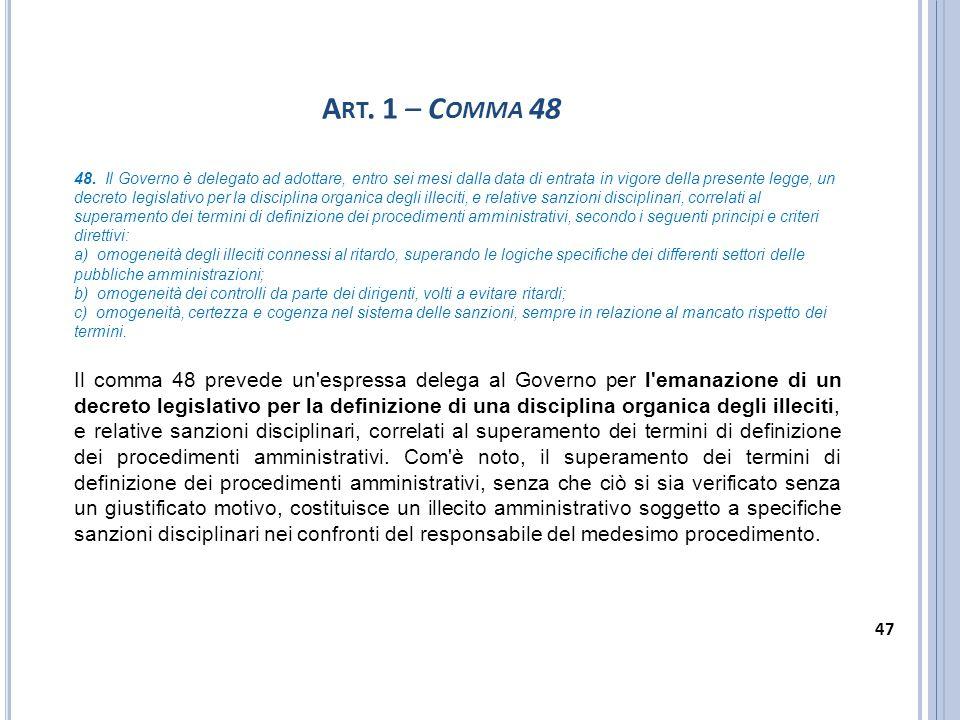 Art. 1 – Comma 48