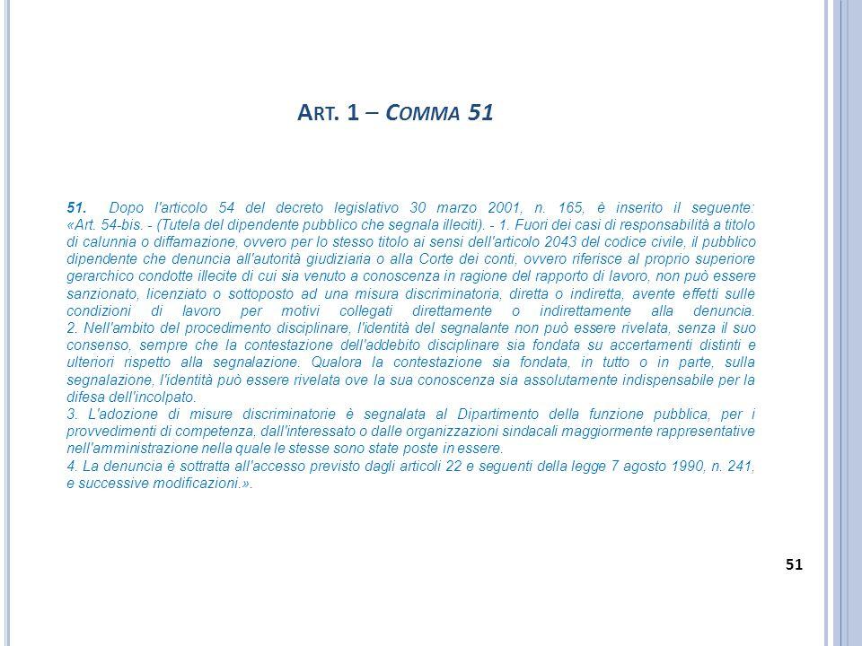 Art. 1 – Comma 51