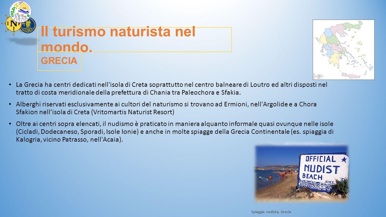 Il turismo naturista nel mondo.