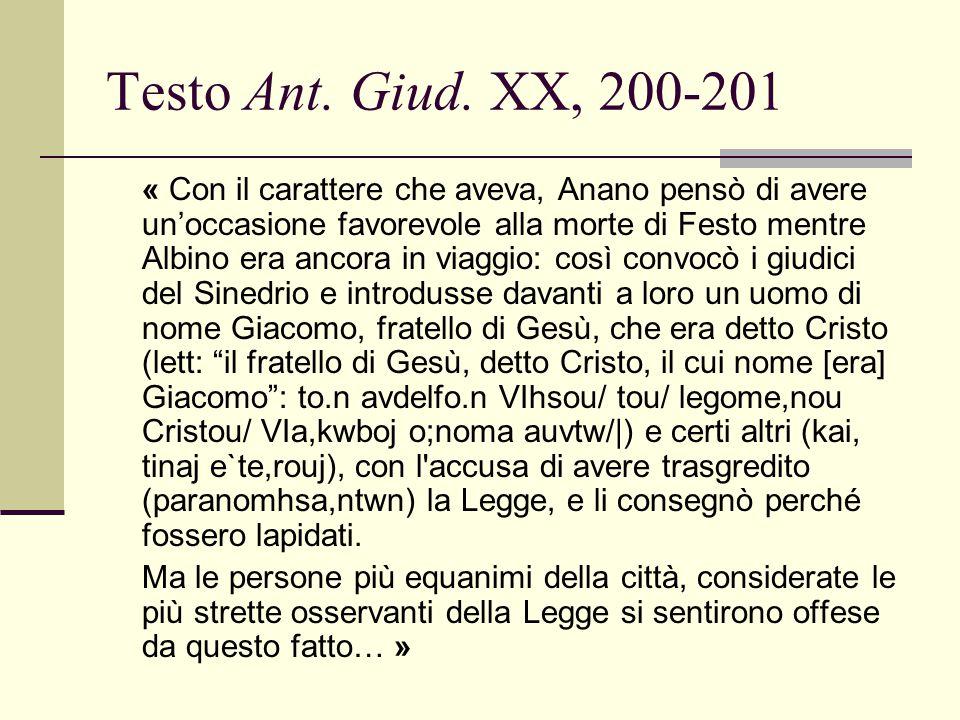 Testo Ant. Giud. XX, 200-201