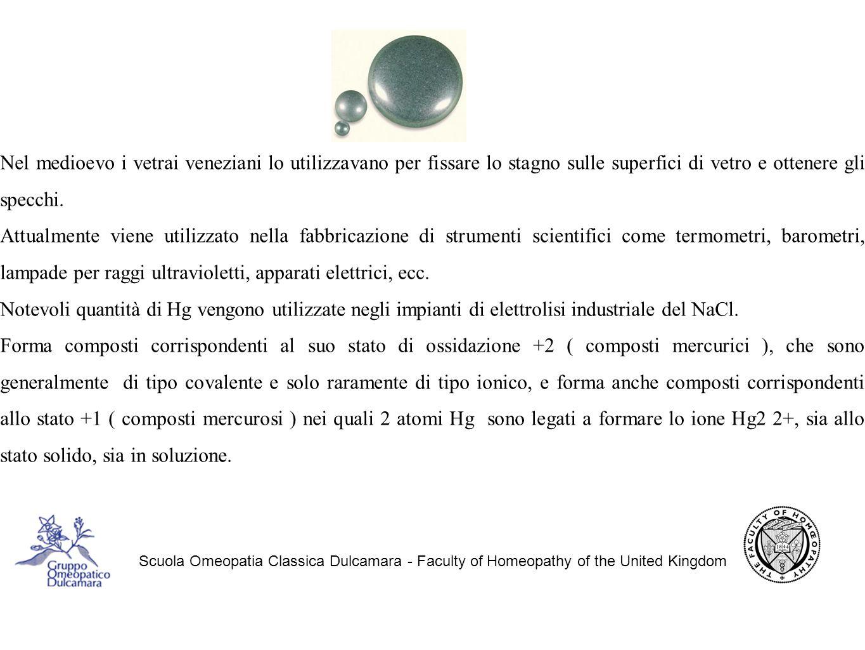 Mercurius scuola omeopatia classica dulcamara faculty of homeopathy of the united kingdom - Quali sono i metalli nella tavola periodica ...