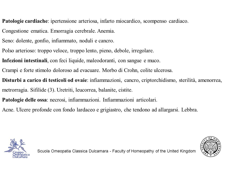 Congestione ematica. Emorragia cerebrale. Anemia.