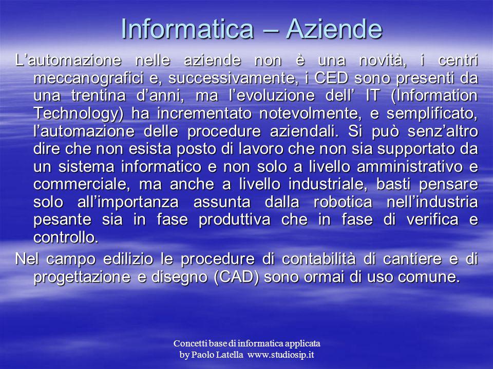 Informatica – Aziende