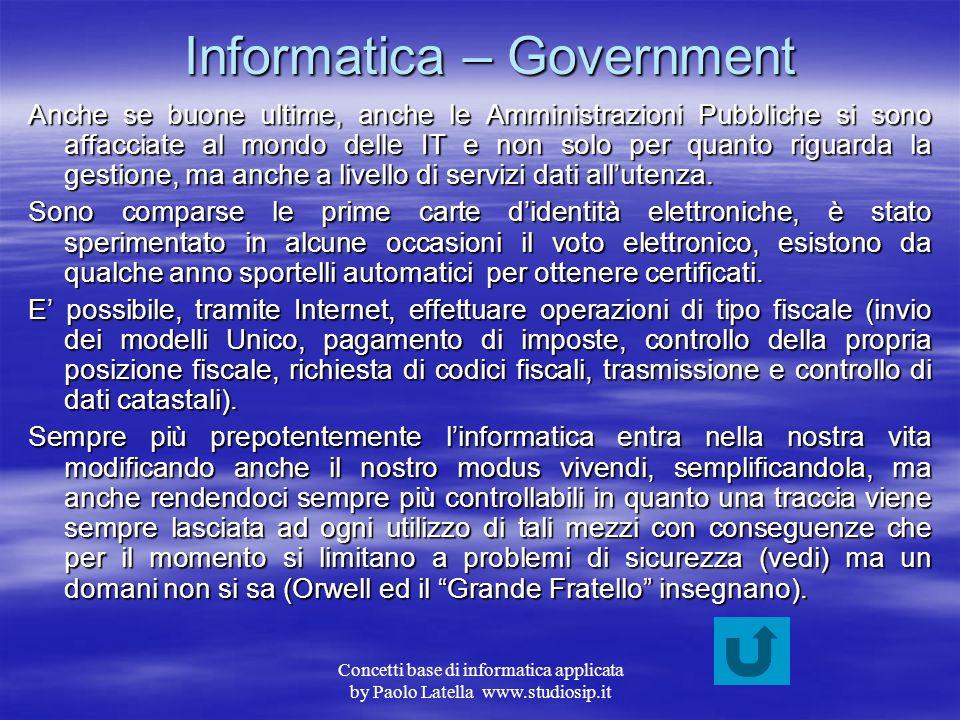 Informatica – Government