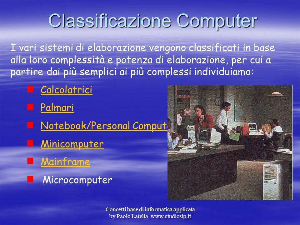 Classificazione Computer