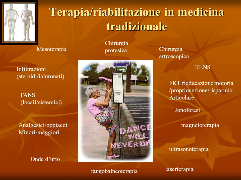 Terapia/riabilitazione in medicina tradizionale