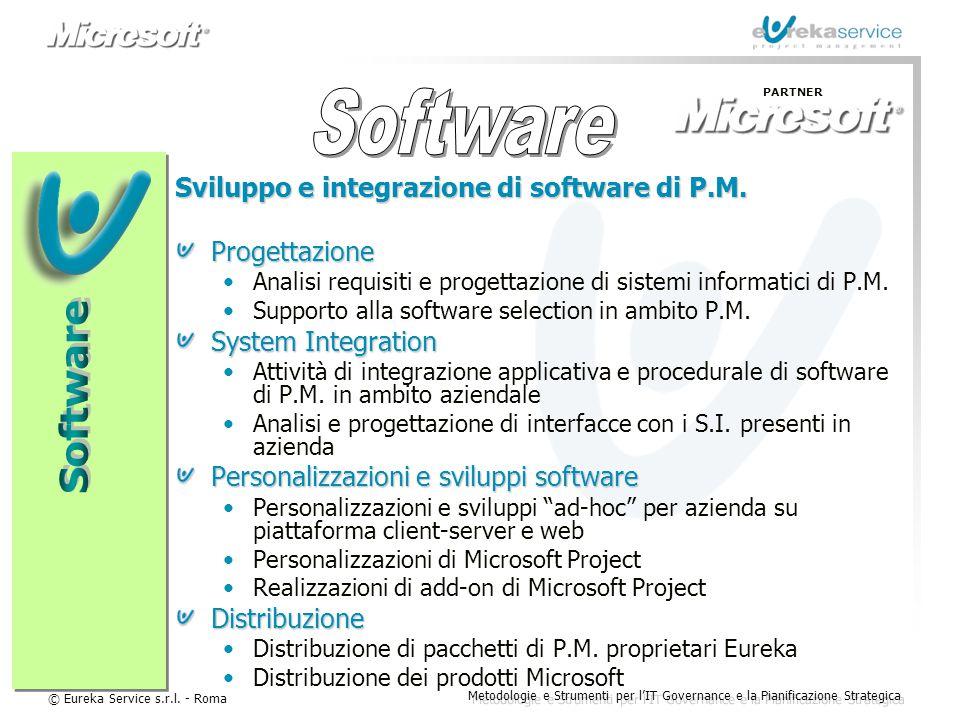 Software Software Sviluppo e integrazione di software di P.M.