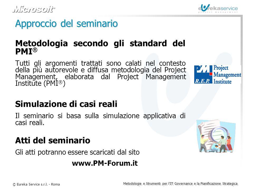 Approccio del seminario