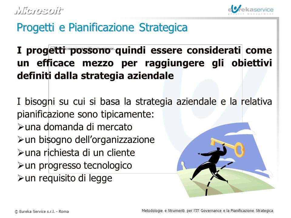 Progetti e Pianificazione Strategica