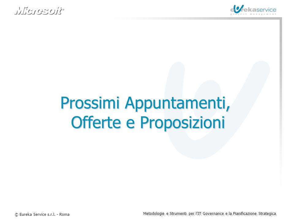 Prossimi Appuntamenti, Offerte e Proposizioni