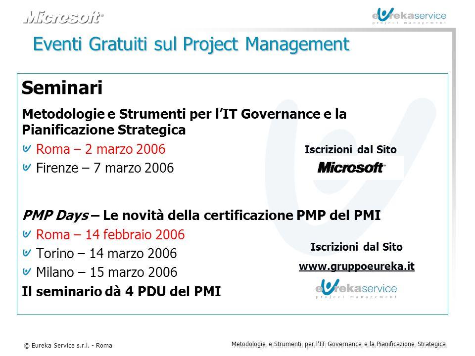 Eventi Gratuiti sul Project Management