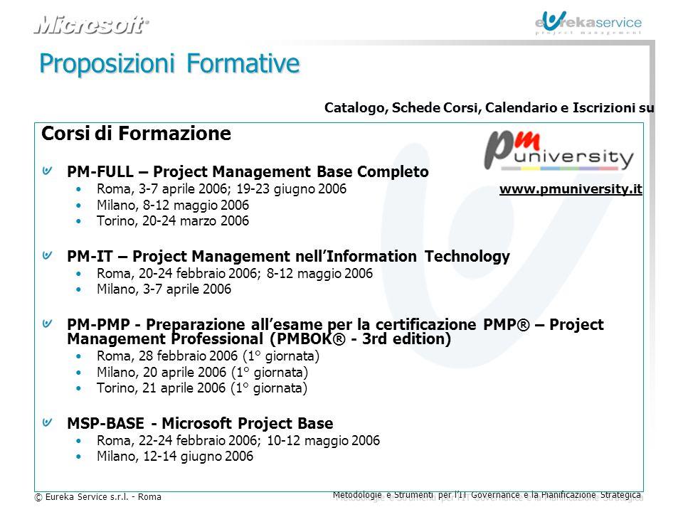 Proposizioni Formative