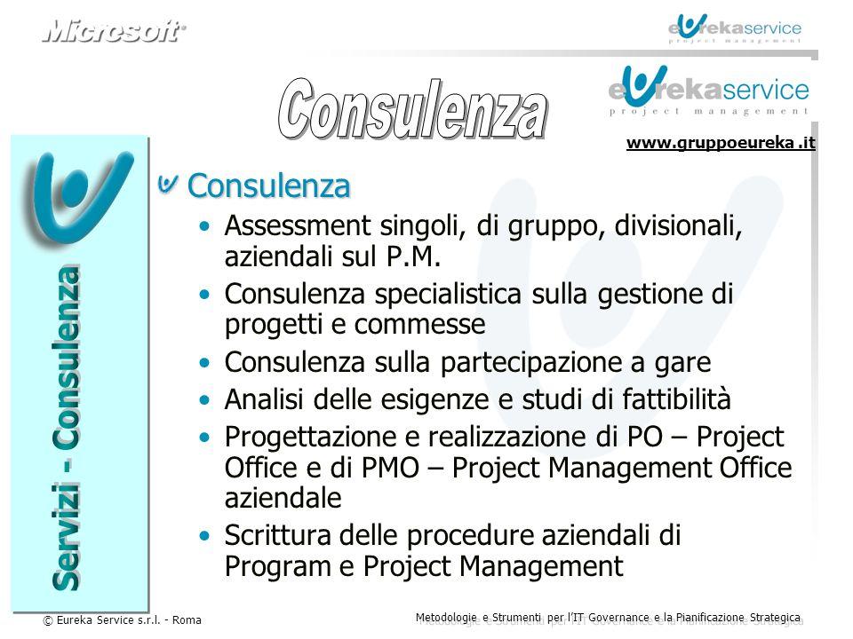 Consulenza Servizi - Consulenza Consulenza