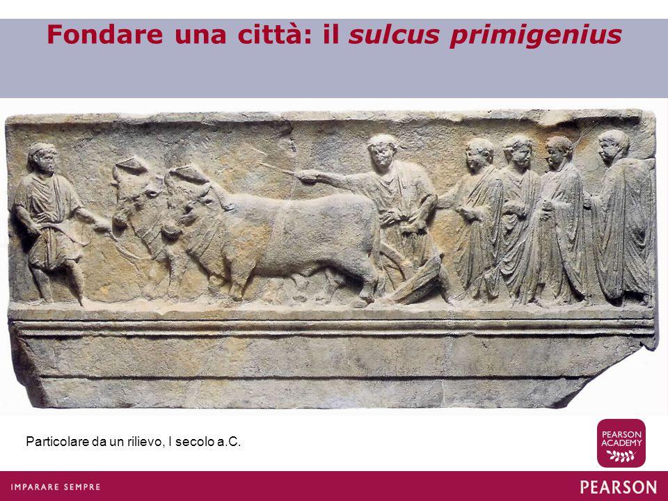 Fondare una città: il sulcus primigenius