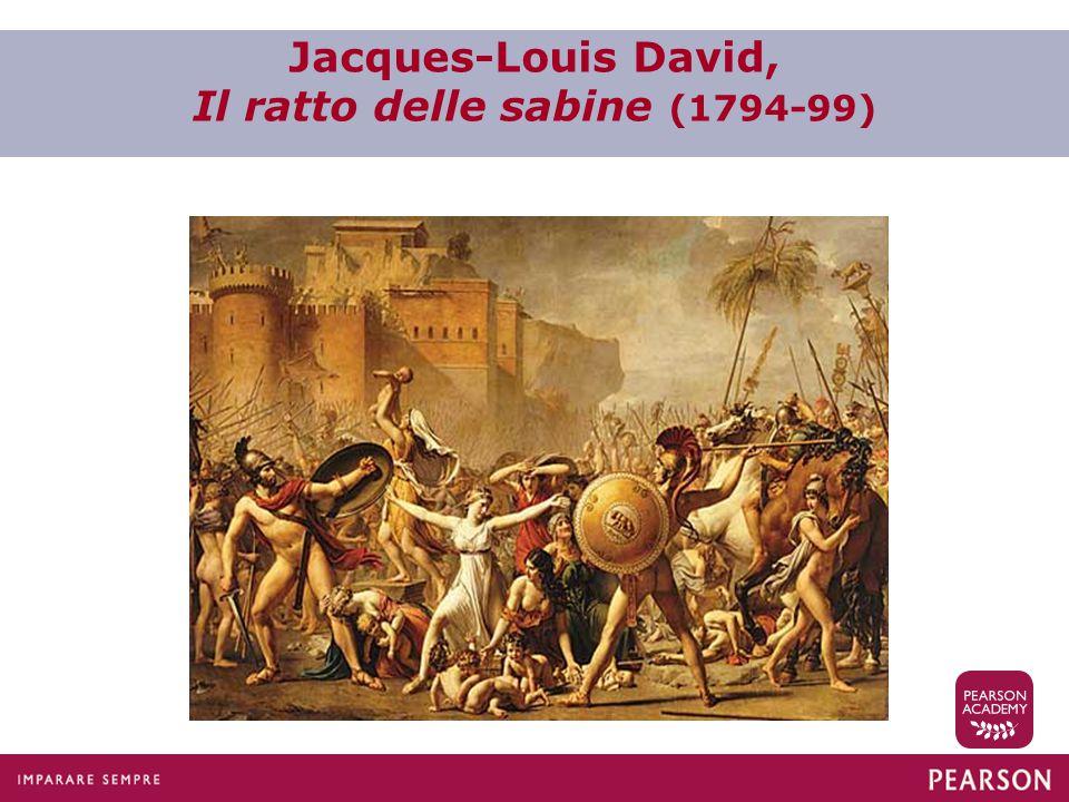 Jacques-Louis David, Il ratto delle sabine (1794-99)