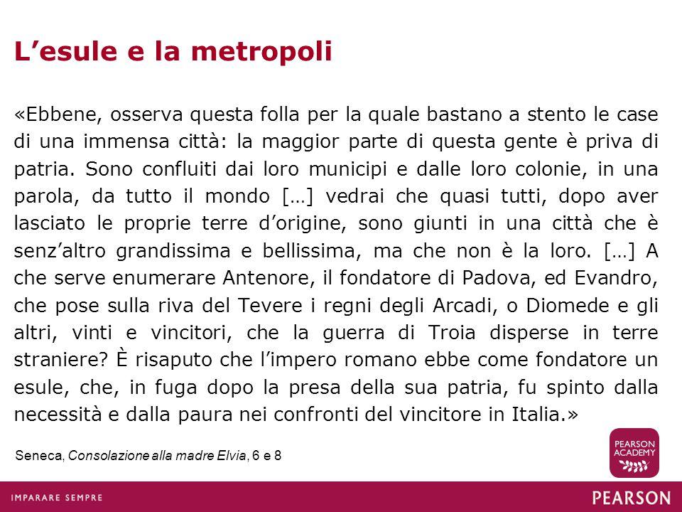 L'esule e la metropoli