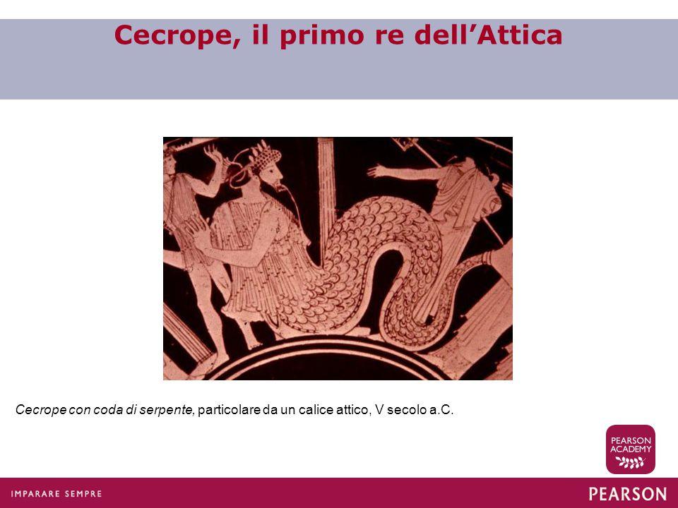 Cecrope, il primo re dell'Attica