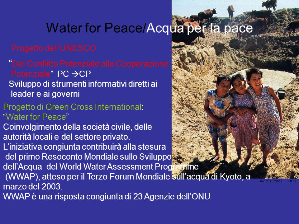 Water for Peace/Acqua per la pace