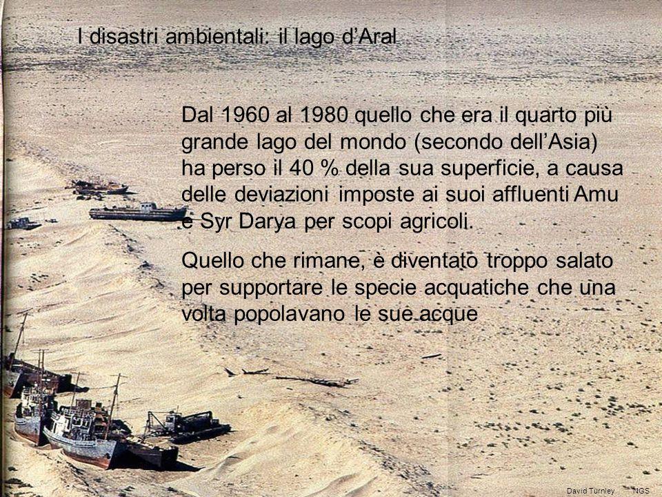 I disastri ambientali: il lago d'Aral