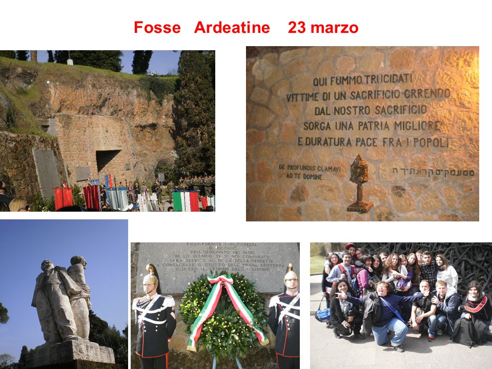 Fosse Ardeatine 23 marzo 24