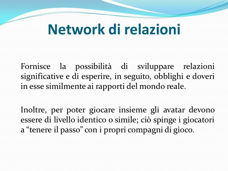 Network di relazioni