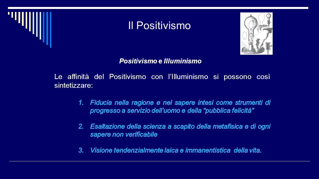 Positivismo e Illuminismo