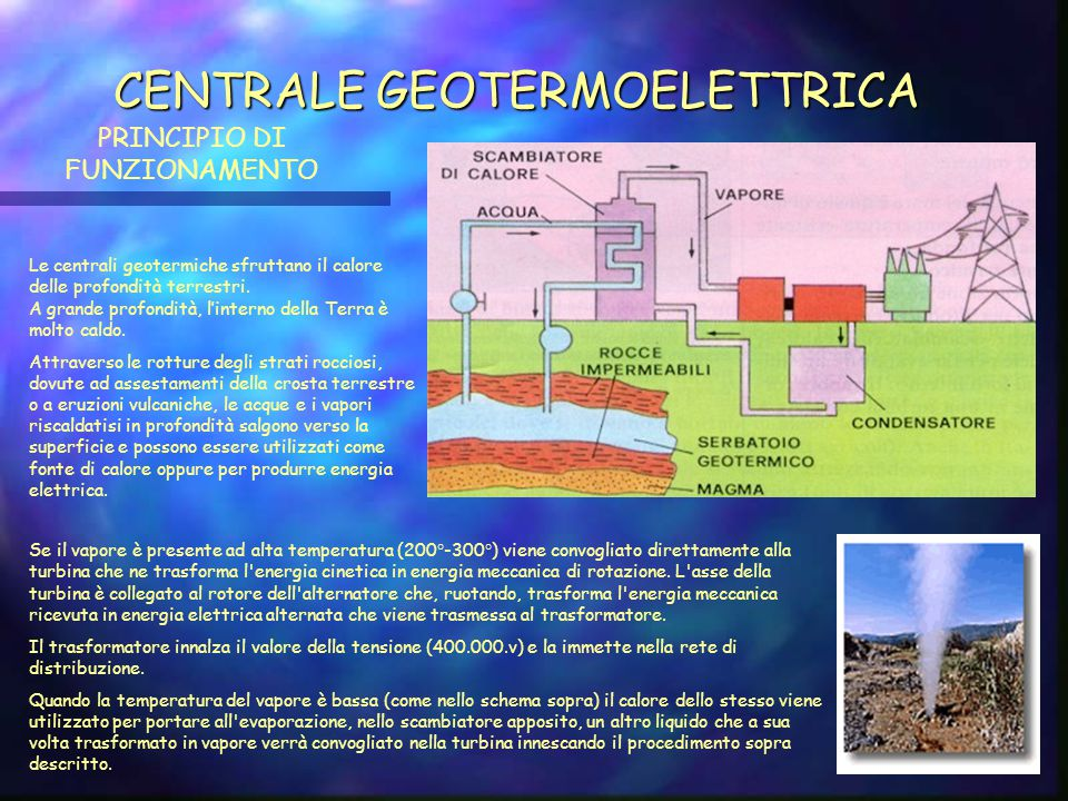 CENTRALE GEOTERMOELETTRICA