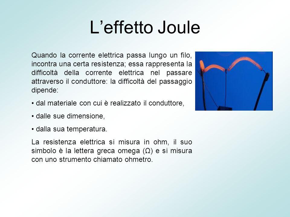 L'effetto Joule