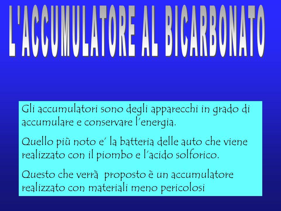 L ACCUMULATORE AL BICARBONATO