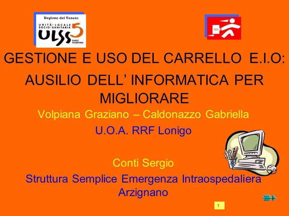 GESTIONE E USO DEL CARRELLO E. I