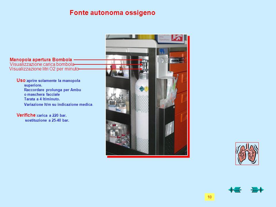 Fonte autonoma ossigeno