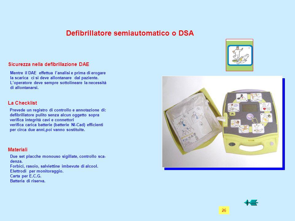 Sicurezza nella defibrillazione DAE