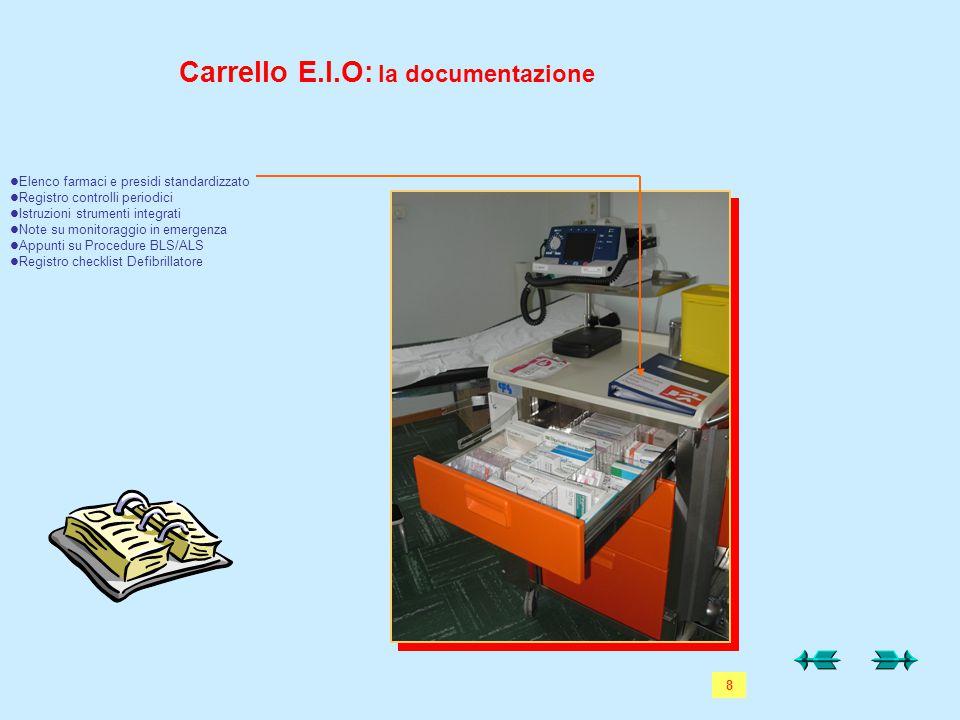 Carrello E.I.O: la documentazione