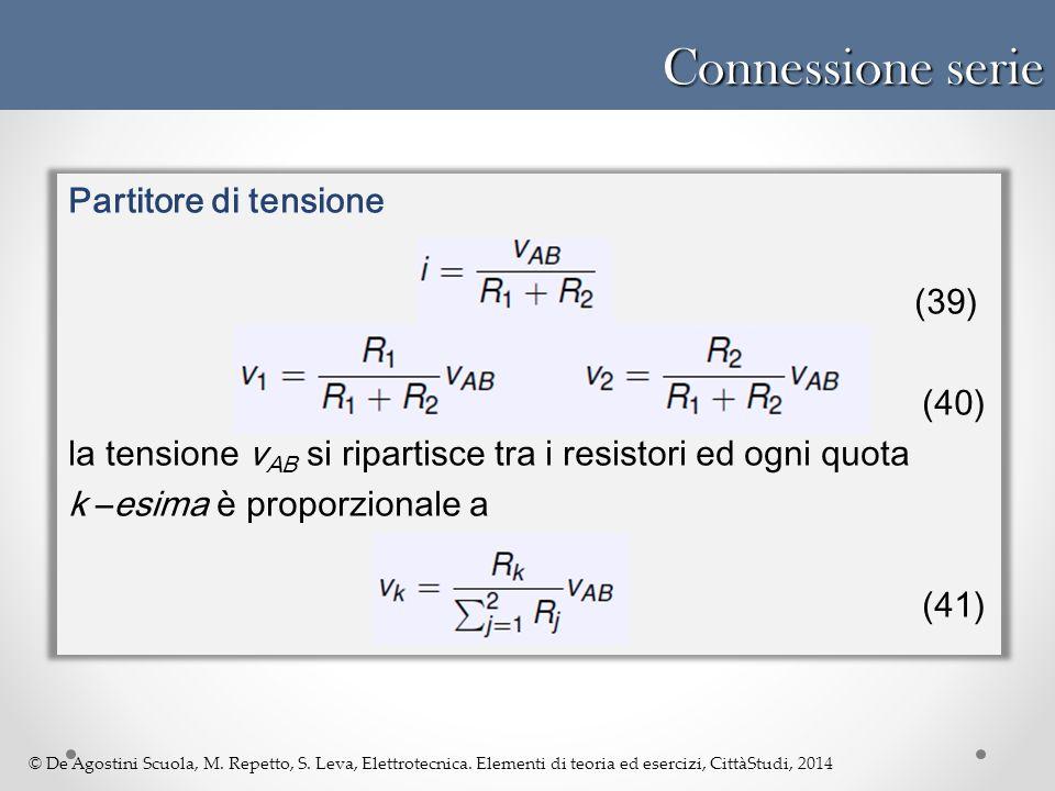 Connessione serie Partitore di tensione (40)