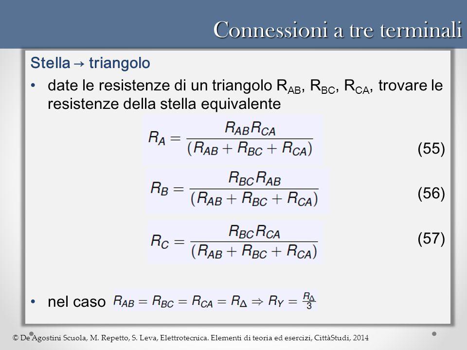 Connessioni a tre terminali