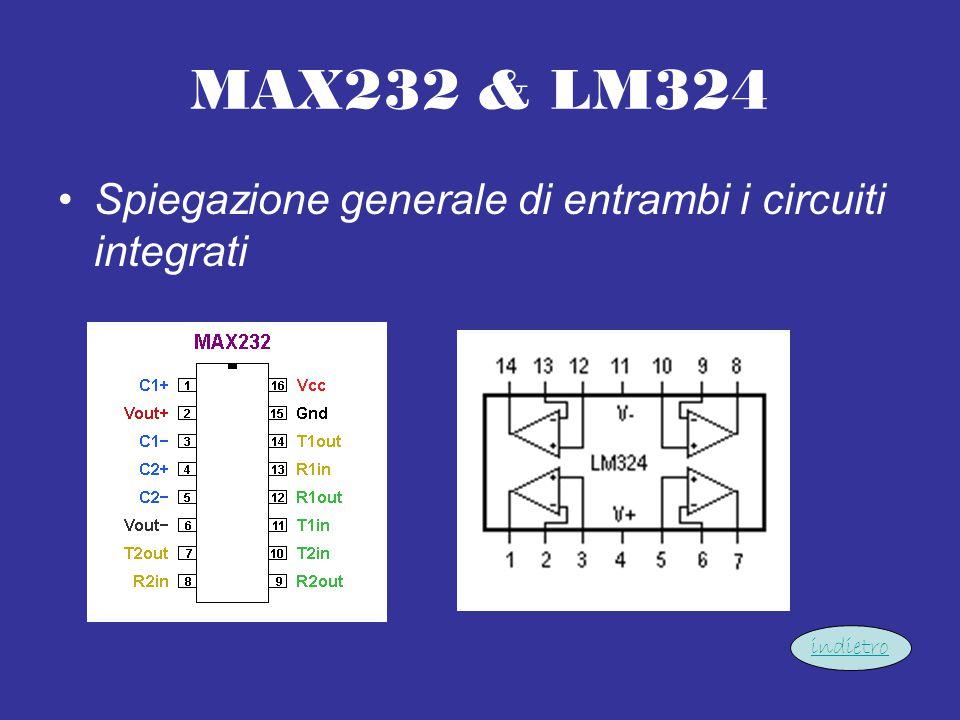 MAX232 & LM324 Spiegazione generale di entrambi i circuiti integrati