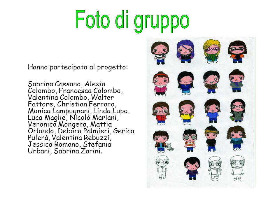 Foto di gruppo Hanno partecipato al progetto: