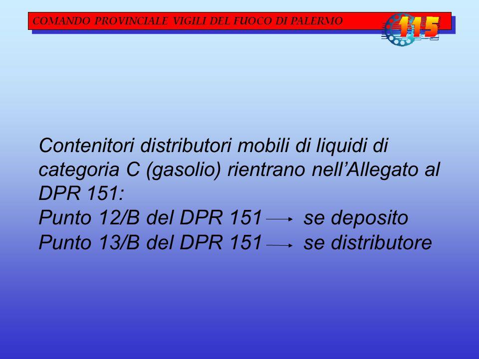 Punto 12/B del DPR 151 se deposito