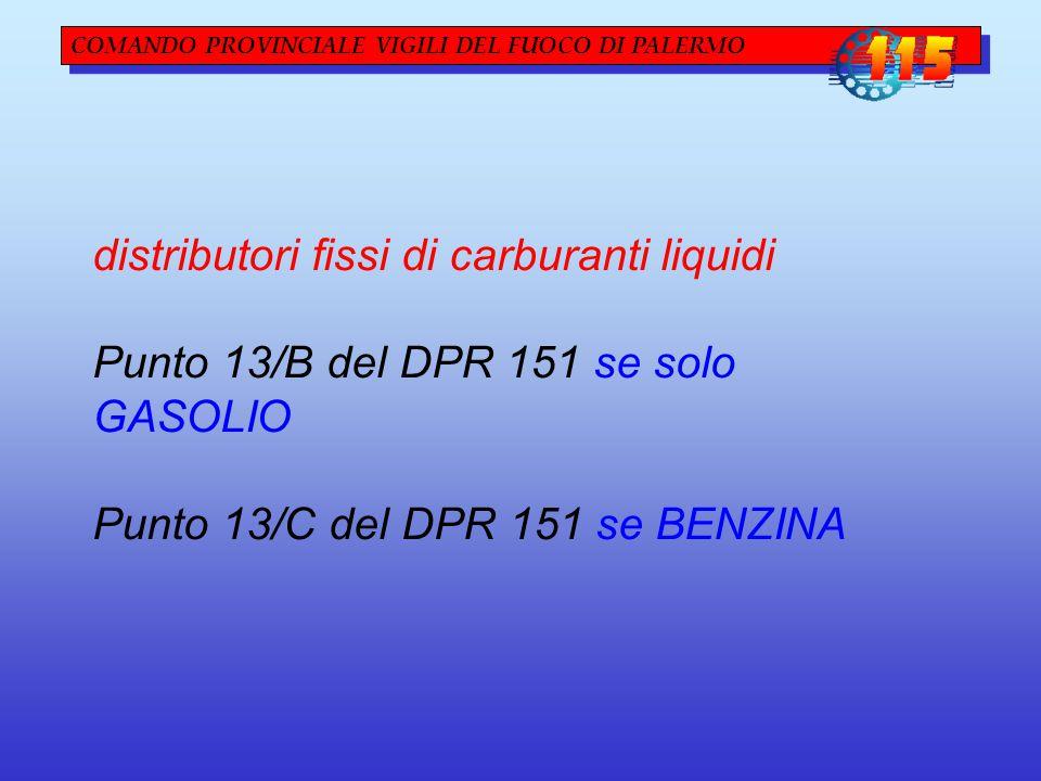 distributori fissi di carburanti liquidi