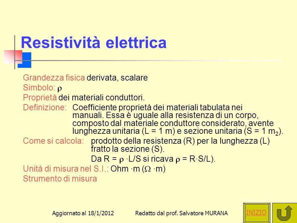 Resistività elettrica