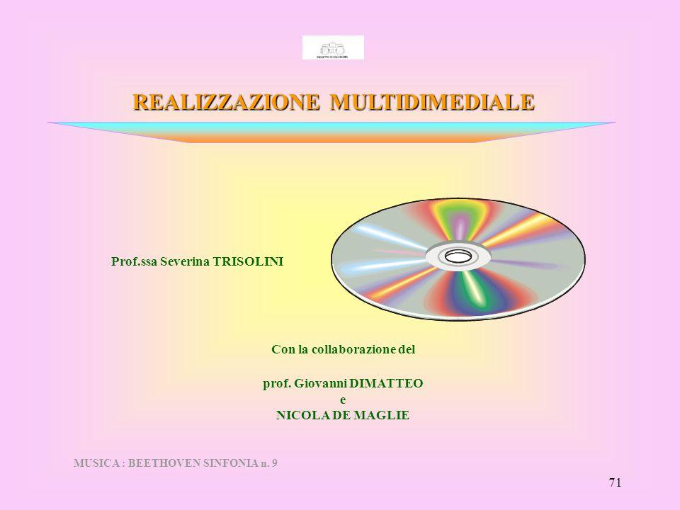 Con la collaborazione del prof. Giovanni DIMATTEO