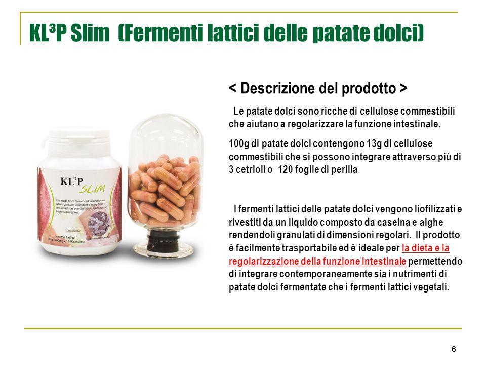 KL³P Slim (Fermenti lattici delle patate dolci)