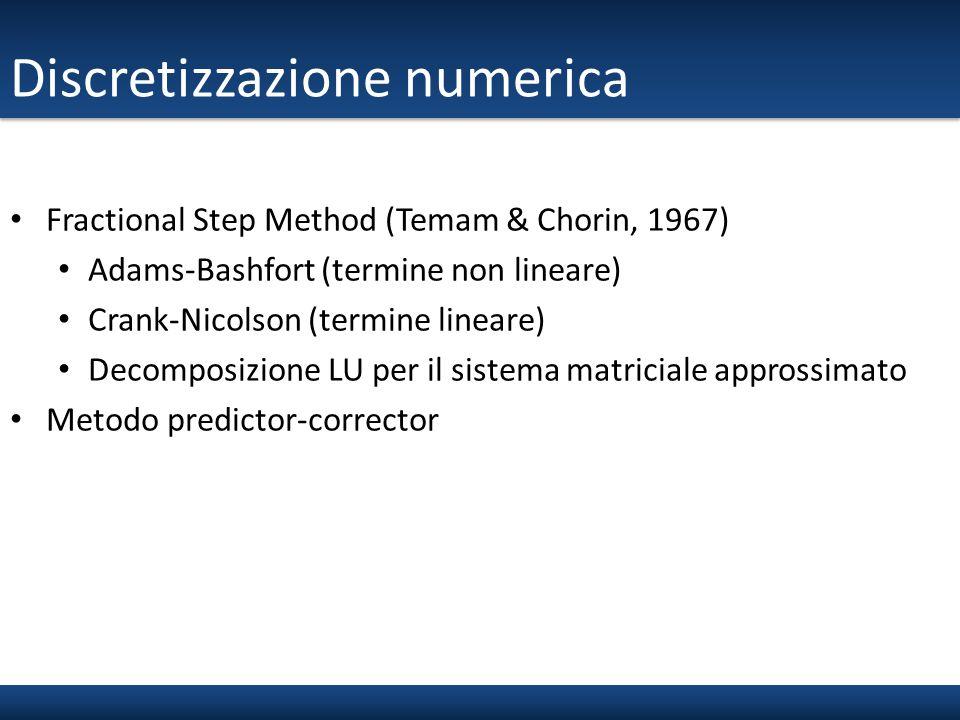 Discretizzazione numerica